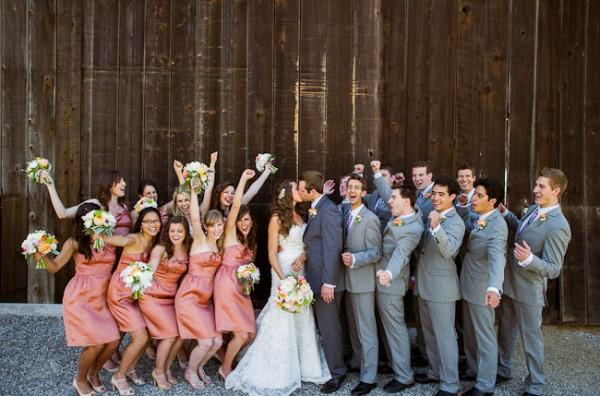 bruiloft op een andere manier